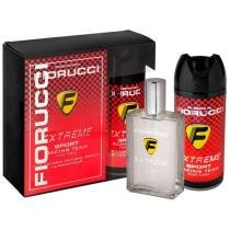 Fiorucci Extreme Sport Racing Team For Men Perfume - Masculino Deo Colônia 100ml + Desodorante Spray