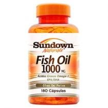 Fish Oil 1000 180 Cápsulas - Sundown Naturals