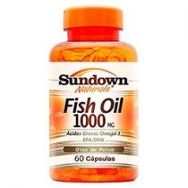 Fish Oil 1000 60 Cápsulas - Sundown Naturals