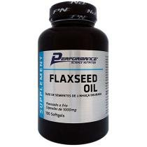 FlaxSeed Oil - Óleo de Sementes de Linhaça Dourada - 100 Softgels - Performance Nutrition