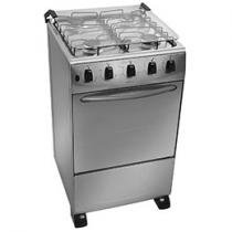 Fogo 4 Bocas Atlas Tropical Plus Inox