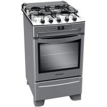 Fogo 4 Bocas Brastemp Clean Inox