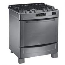 Fogo 5 Bocas Inox Brastemp Gourmand BFB76BR