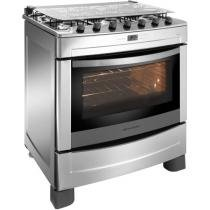 Fogo 6 Bocas Brastemp Clean Inox