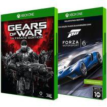 Forza Motorsport 6 Microsoft + Gears of War - Ultimate Edition Console p/ Xbox One