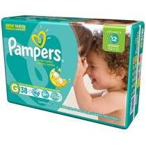 Fralda Pampers Total Confort G - 38 Unidades