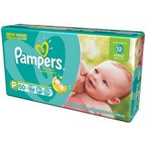 Fralda Pampers Total Confort P - 50 Unidades