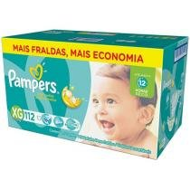 Fralda Pampers Total Confort XG - 112 Unidades