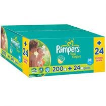 Fraldas Baby Care Total Confort 224 Unidades - Pampers M