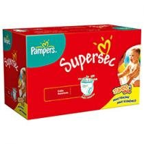 Fraldas Supersec Jumbo 92 Unidades - Pampers G