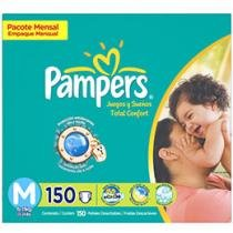 Fraldas Total Confort 150 Unidades - Pampers M