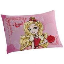 Fronha Avulsa Estampada Ever After High - Lepper - Rosa - Lepper