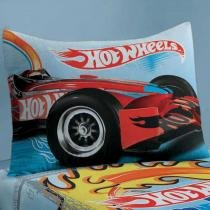 Fronha Avulsa Hot Wheels 50 x 70 cm - Lepper - Azul - Lepper