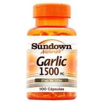 Garlic Oil 1500 100 Cápsulas - Sundown Naturals