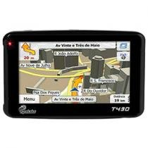 "GPS Apontador T430 LCD 4,3"" Text to Speech - (Fala o Nome das Ruas) + TV Digital + Mapas 3D"