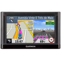 "GPS Automotivo Garmin Nüvi 52 Tela 5"" - Text to Speech com 2.489 Cidades Navegáveis"