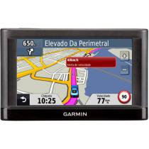 "GPS Automotivo Garmin Nüvi 52LM Tela 5"" - Text to Speech com 2.489 Cidades Navegáveis"