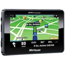 "GPS Multilaser Tracker GP011 Tela 4,3"" - Text to Speech (Fala Nome das Ruas) + Mapas 3D"