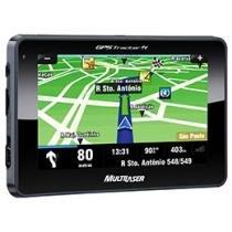 GPS Multilaser Tracker GP014 Tela 5&#34; c/ TV Digital