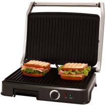Grill 1830W com Ala Fria e Chapa Antiaderente