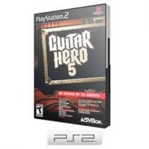 Guitar Hero: 5 para PS2 - Activision