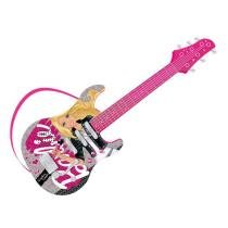 Guitarra Infantil Luxo Barbie