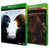 Halo 5: Guardians Microsoft + Metal Gear Solid V - The Phantom Pain Day One Edition Konami Xbox One