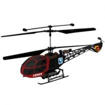 Helicptero H 18 Fnix 3 Canais c/ Controle Remoto