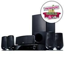 Home Theater c/ DVD Player 850W RMS 5.1 Canais