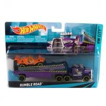 Hot Wheels Caminhão Transport Rumble Road - Mattel - Hot Wheels