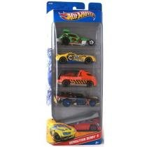 Hot Wheels Pack 5 Peças - Mattel