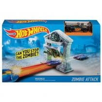 Hot Wheels Pista Radical Ataque Zumbi - Mattel - Mattel