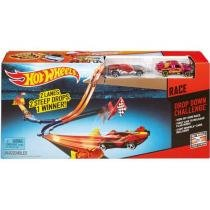 Hot Wheels Pistas Double Drop - Mattel