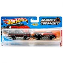 Hot Wheels Rapid Transit Super Steamliner - Mattel
