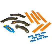Hot Wheels Track Builder - Conectores - Curvas Essenciais - Mattel