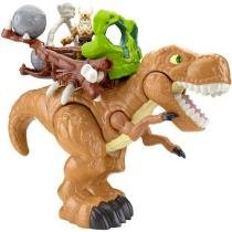Imaginext Dino Deluxe - T-Rex com Acessórios - Fisher-Price