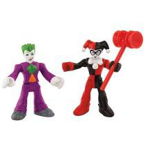 Imaginext Super Friends - The Joker & Harley Quinn - Fisher-Price