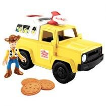 Imaginext Toy Story Carro Pizza Planet