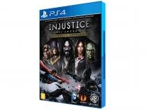 Injustice - Gods Among Us: Game of the Year - para PS4 Warner