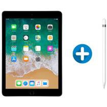 iPad 6 Apple 128GB Cinza Espacial Tela 9.7 Retina - Proc. Chip A10 Câm. 8MP + Apple Pencil