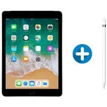 iPad 6 Apple 4G 128GB Cinza Espacial Tela 9.7 - Retina Proc. Chip A10 Câm. 8MP + Apple Pencil
