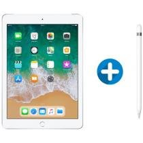iPad 6 Apple 4G 128GB Prata Tela 9.7 - Retina Proc. Chip A10 Câm. 8MP + Apple Pencil