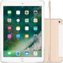 iPad Air 2 Apple 4G 128GB Dourado Tela 9,7 Retina - Proc. M8 Câm. 8MP + Frontal iOS 8 Touch ID