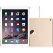 iPad Air 2 Apple 4G 16GB Dourado Tela 9,7 Retina - Proc. M8 Câm. 8MP + Frontal iOS 8 Touch ID