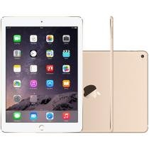 iPad Air 2 Apple 4G 64GB Dourado Tela 9,7 Retina - Proc. M8 Câm. 8MP + Frontal iOS 8 Touch ID