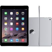 iPad Air 2 Apple 64GB Cinza Chumbo Tela 9,7 4G - Retina Wi-Fi Processador M8 C��mera 8MP + Frontal