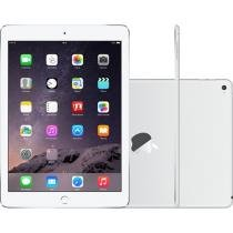 iPad Air 2 Apple 64GB Prata Tela 9,7 Retina - Proc. M8 Câm. 8MP + Frontal iOS 8 Touch ID