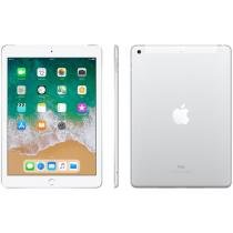 iPad Apple 4G 128GB Prata Tela 9,7 Retina - Proc. Chip A9 Câm. 8MP + Frontal iOS 11 Touch ID