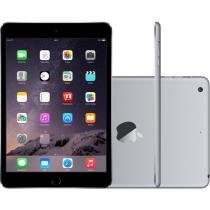 iPad Mini 3 Apple 16GB Cinza Chumbo Tela 7,9 - 4G Wi-Fi Processador M7 C��mera 5MP + Frontal