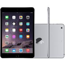 iPad Mini 3 Apple 64GB Cinza Espacial Tela 7,9 - Retina 4G Wi-Fi Processador M7 C��mera5MP + Frontal